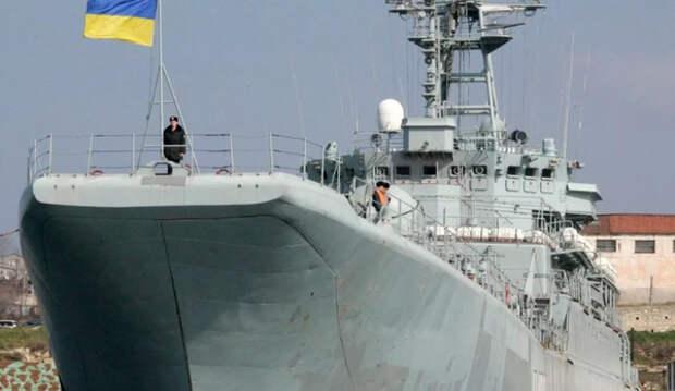 Три корабля украинских ВСМ пересекли границу РФ