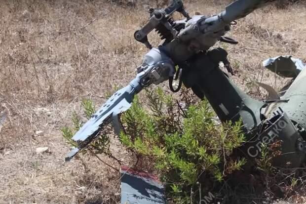 СК опубликовал видео с места гибели лётчика Пешкова в Сирии