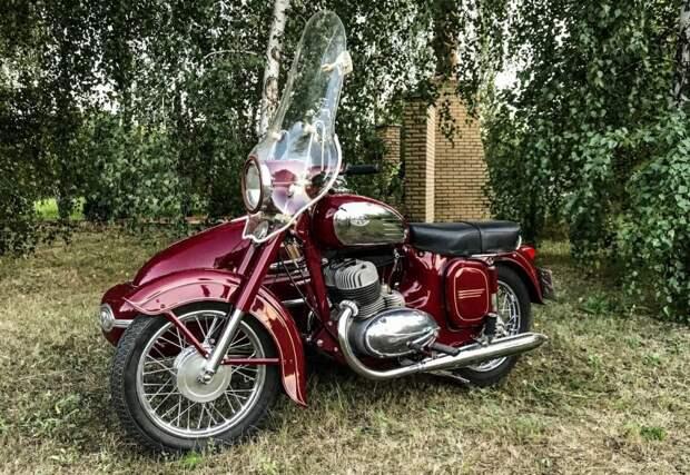 Эти мотоциклы активно экспортировались не только в СССР, но и в страны Западной Европы и даже Америку авто, мото, мотоцикл, мотоцикл Ява, олдтаймер, ретро техника, ява