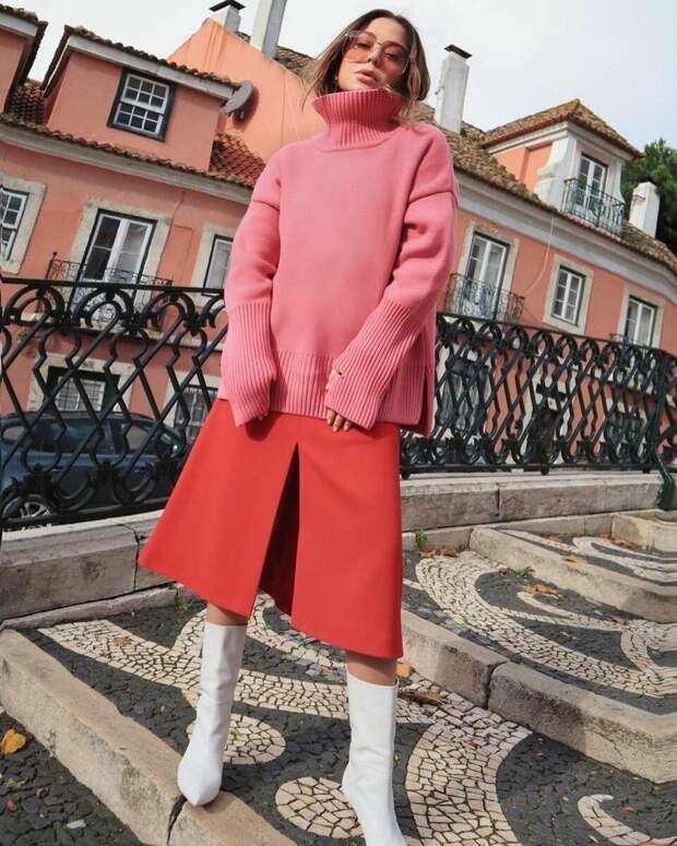 Вязаный оверсайз 2021: теплые и свободные модели для стильных дам