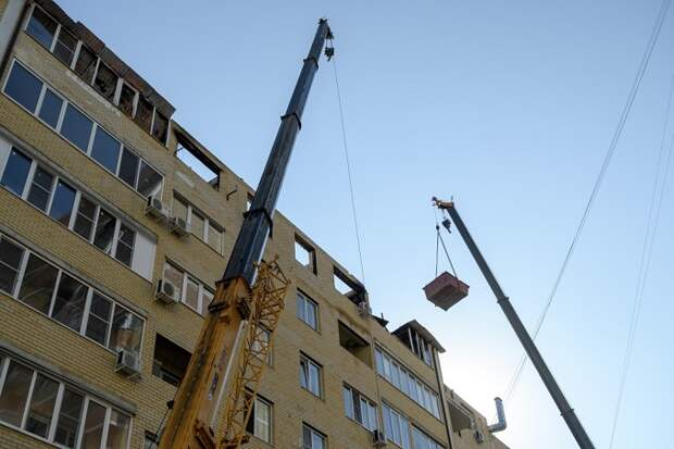 Горевший дом на Российской в Краснодаре восстановят за счет застройщика