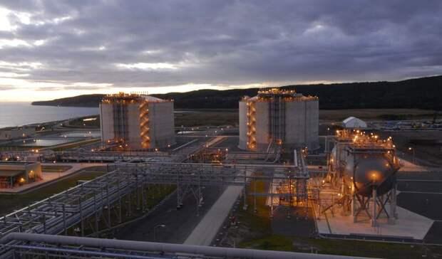Почти на3,5% увеличилось производство СПГ вРоссии за10 месяцев 2020