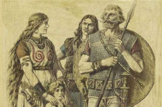 Древние германцы и их языки