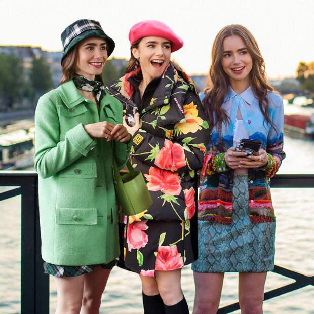 """""""Эмили в Париже"""": костюмы, в которых не хочется искать смысл"""
