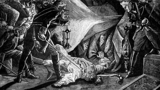 Как Англия убивала русских государей