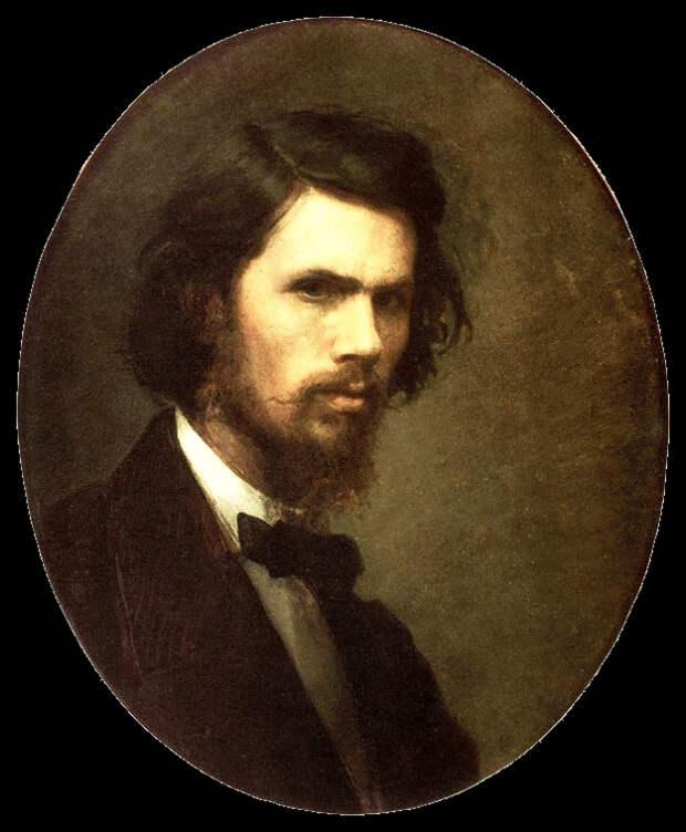 Автопортрет художника (1867). Фото с сайта https://commons.wikimedia.org/wiki/Main_Page