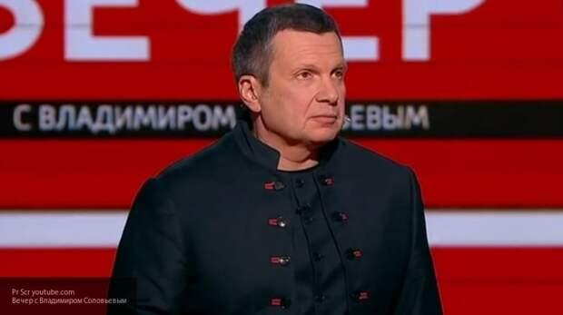 """""""Народ быстрее очнется"""": Соловьев объяснил киевскому политологу, чем России выгоден Порошенко у власти"""