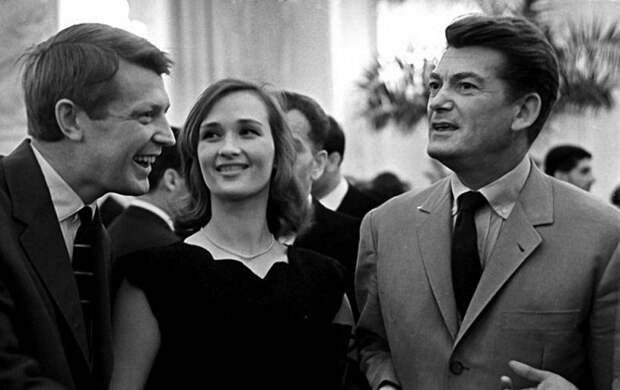 Редкие встречи: советские и иностранные знаменитости
