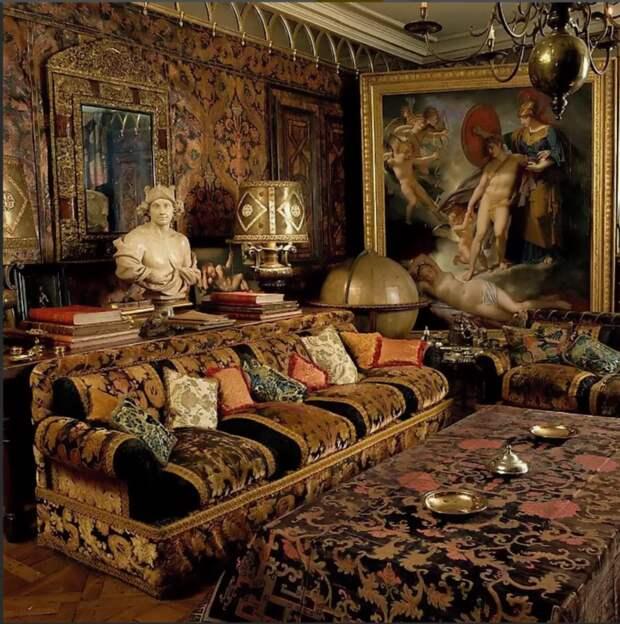 Парижская квартира Рудольфа Нуриева
