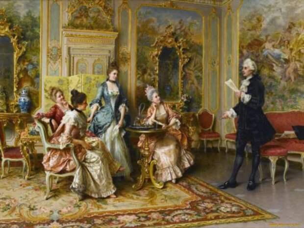 Почему представителей аристократии было принято называть «голубая кровь»
