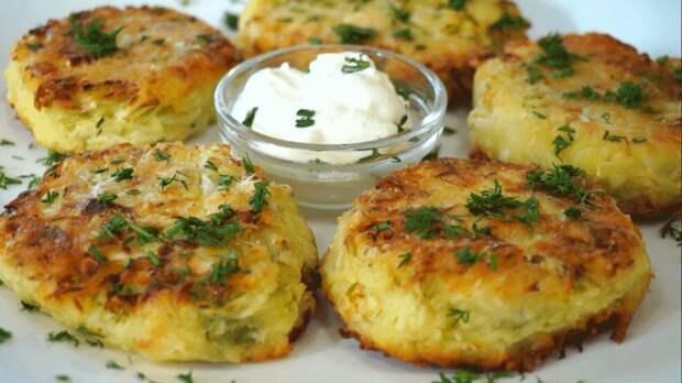 Картофельные зразы с мясом: простой и быстрый рецепт