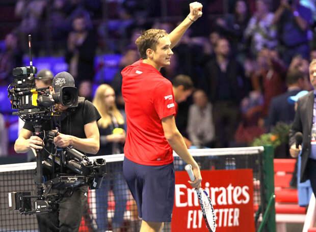 Даниил Медведев выиграл четвертый «Мастерс» в своей карьере!