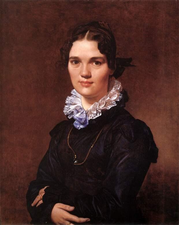 Mademoiselle Jeanne Suzanne Catherine Gonin. Автор: Доменик Энгр.