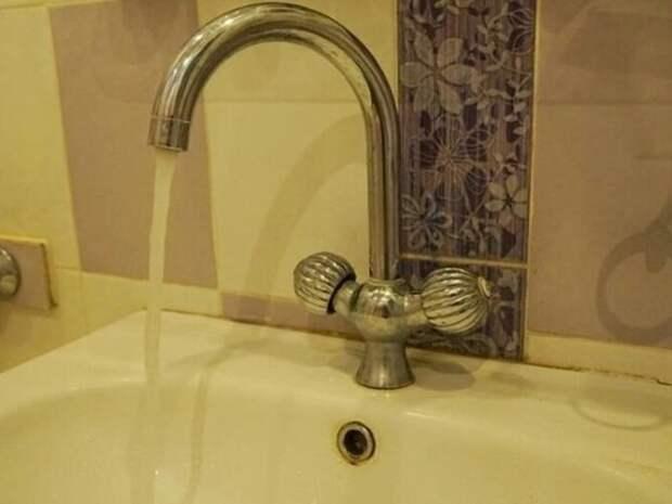 Холодную воду отключат на три часа 21 сентября на трёх улицах Читы