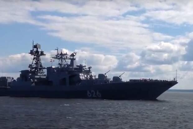 Испания не пустила российские военные суда в порт Сеуты