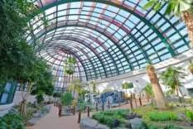 Парк бабочек и контактный зоопарк в Намхэ