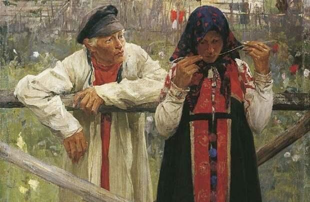 Если жених не нравился, он мог получить от ворот поворот. /Фото: relaxmam.ru