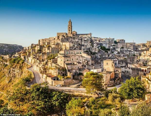 3. Матера, Италия красивые места, места, мир, путешествия, рейтинг, страны, туризм, фото