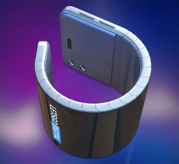 Samsung работает над смартфоном-браслетом