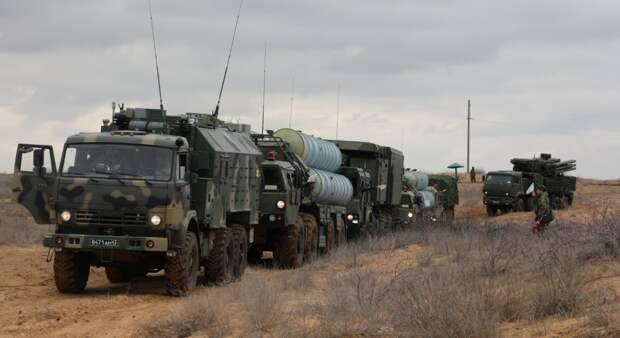ЗРК «Панцирь-С» ликвидировали технику условного противника на учениях по Астраханью