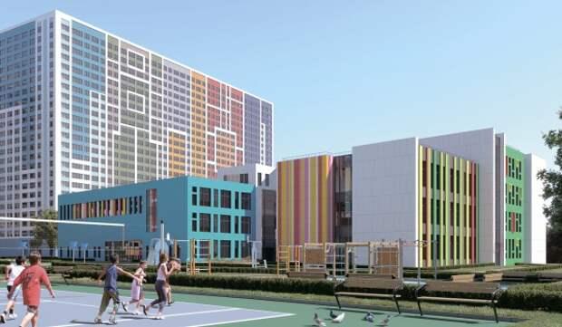 Семь объектов образования построят в Перово по программе реновации