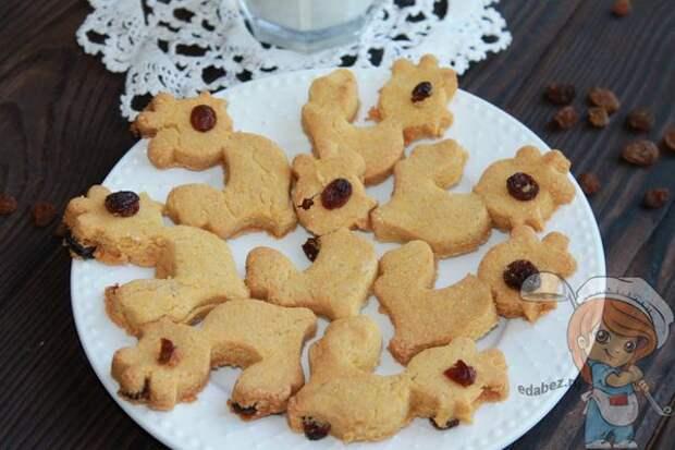 Готовое детское печенье из кукурузной муки