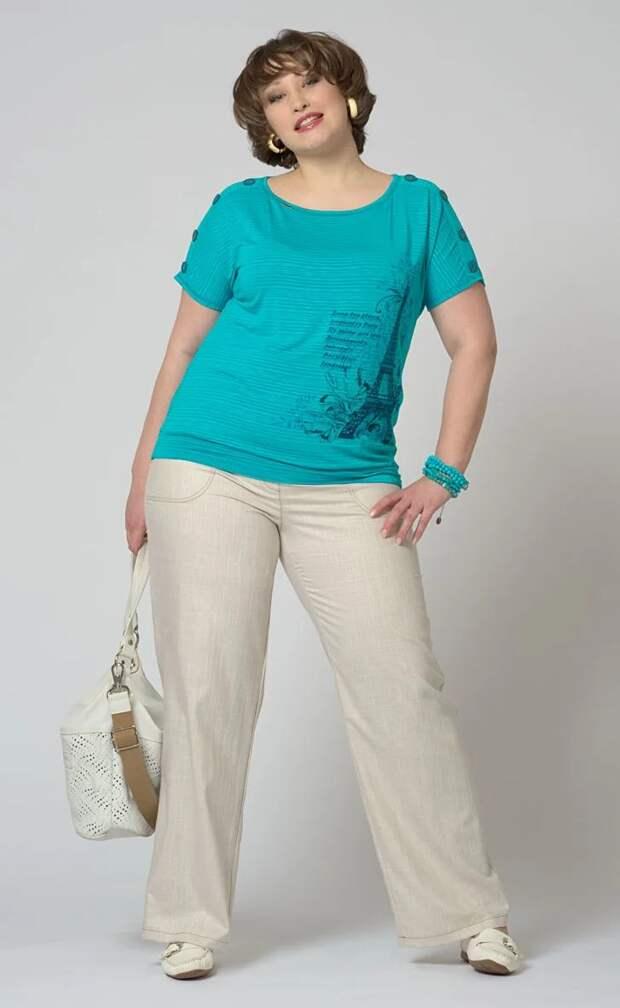 Выбираем брюки для полной женщины и скрываем лишние килограммы