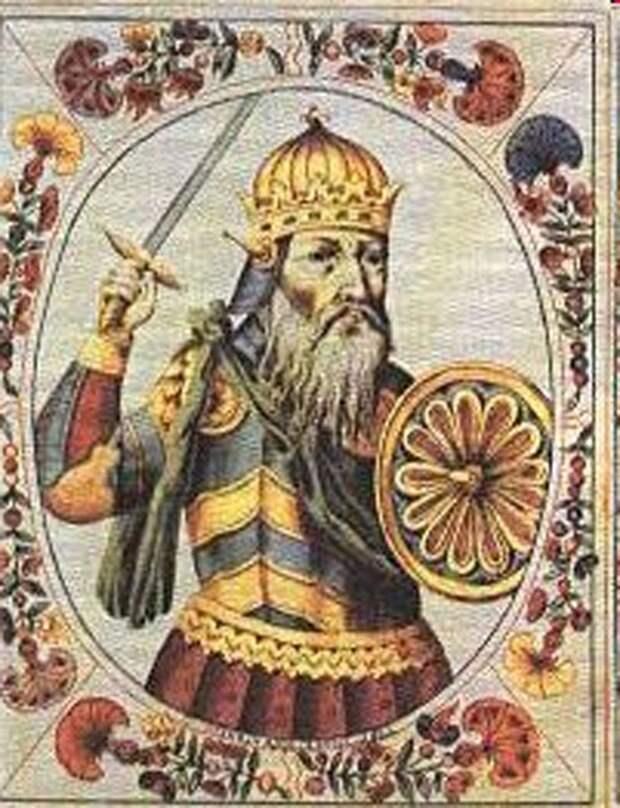 Портрет Святослава в «Царском титулярнике»