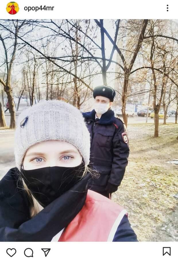 Фото дня: в общественных местах Марьиной рощи проверили наличие масок