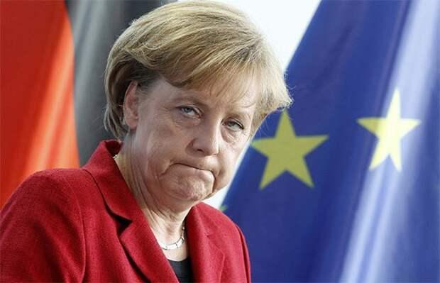 """Предупреждение Меркель по российскому """"вторжению"""""""