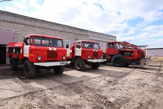 Администрация Дзержинска проверила готовность лесхоза к возможным пожарам