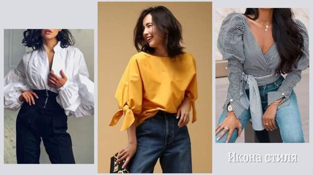 Летняя романтика в роскошных блузках сезона 2021