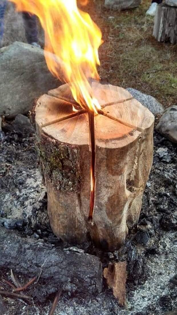 Долгоиграющая печка