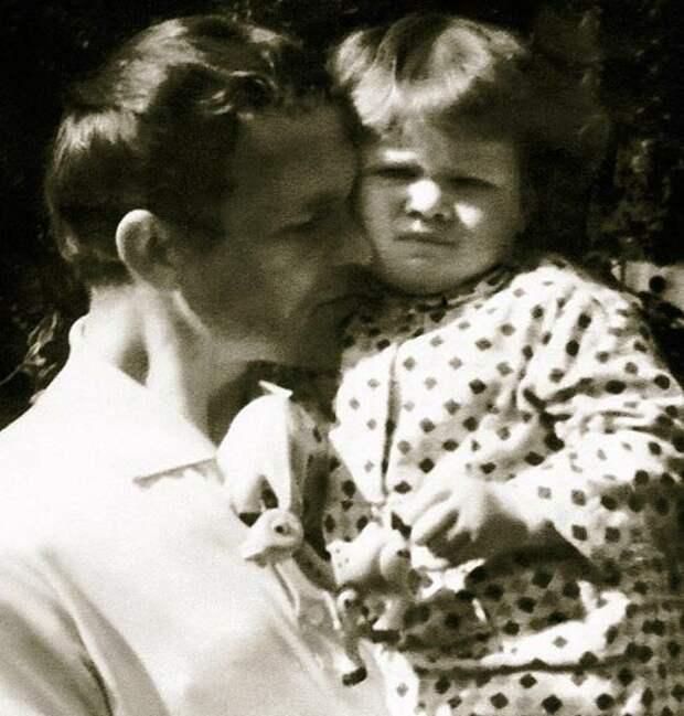 Александр Борисов и дочь Лада