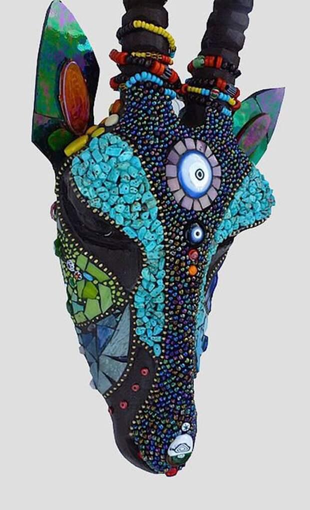 Мозаичные черепа (подборка)