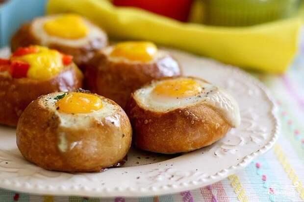 Фаршированные булочки — быстрый завтрак: 5 шикарных рецептов