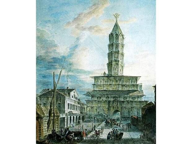 Были и небылицы Сухаревой башни