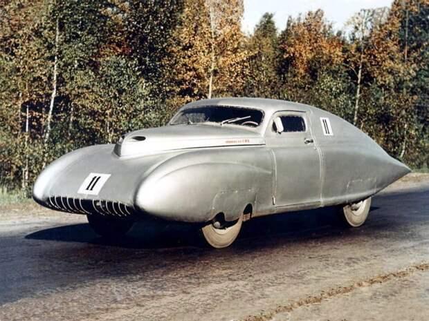 Опытный экземпляр ГАЗ М-20 Победа Спорт, 1950 автомир, аэродинамика, из прошлого, конструкция, обтекаемость. формы