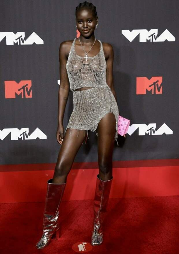 16/32 Adut Akech Image: Jamie McCarthy/Getty Images for MTV/ ViacomCBS