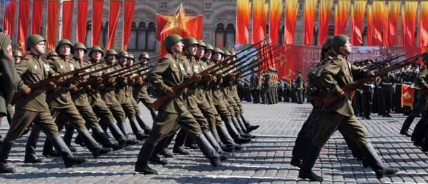 День Победы близок: западные цивилизаторы и их отребье бьются в истерике