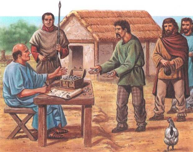 Падение Древнего Рима, финансовый аспект