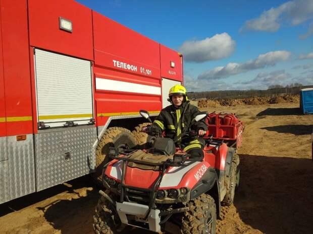 Пожарная безопасность строящейся больницы находится под особым контролем пожарных и беспилотников