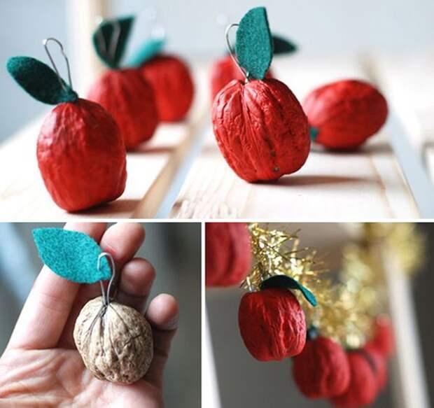 Щёлкаем орешки: скорлупа грецкого ореха как материал для вашего творчества, фото № 38