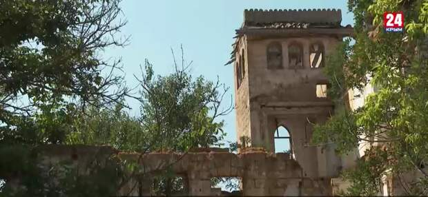 В крымском селе разрушается старинная усадьба, пережившая два пожара