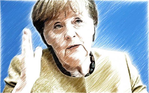 Попотчевала бабушка Меркель Вову Зеленского отлупными по-мински, трубочками без газа и сладкою вакцинкой...