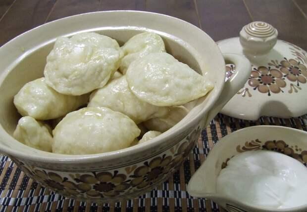 Рецепты по четвергам. Сладкие вареники. Вареники с творогом (2)