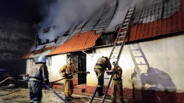 Под Феодосией произошёл пожар в Кизилташском Стефано-Сурожском мужском монастыре
