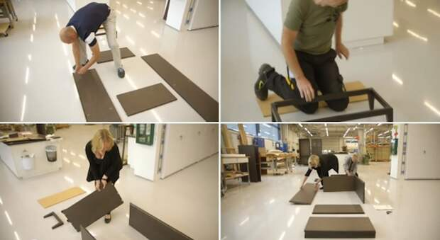 IKEA придумала быстрособираемую мебель