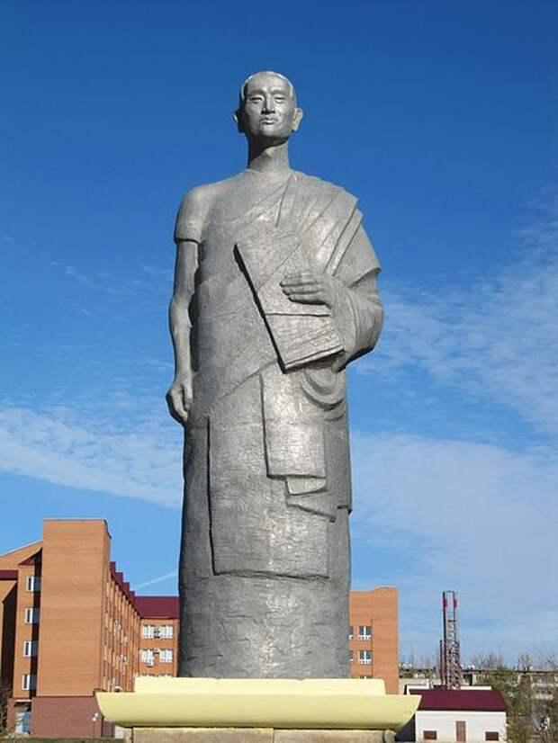 Вертикальное монгольское письмо