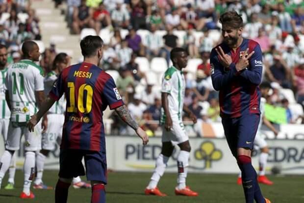 Месси, Пике и Бускетс в седьмой раз выиграли Кубок Испании